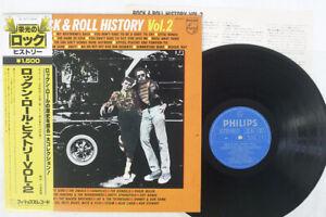 VA(ROD STEWART) ROCK & ROLL HISTORY VOL.2 PHILIPS BT-5277 Japan OBI VINYL LP