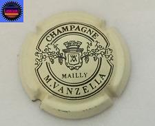 Capsule de Champagne VANZELLA.M Crème et Noir !!!!
