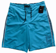 9aae281008 Men's NIKE Turquoise Blue Athletic Shorts Swim Trunks S Small NWT NEW Nice!