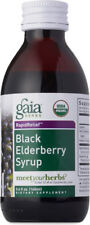 Black Elderberry Syrup, Gaia Herbs, 3 oz