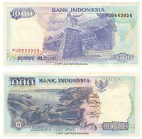 Indonesia 1000 Rupiah 1992 P-129i Banknotes UNC