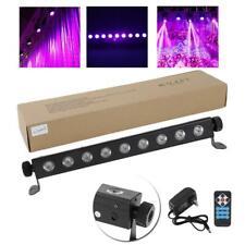260W 9LEDs UV LED Black Stage Lighting Bar Wall Wash Lights DJ Disco Party Lamp