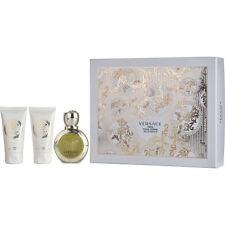 Versace Eros Pour Femme EDT Spray 1.7 oz & Body Lotion 1.7 oz & Shower Gel 1.7 o