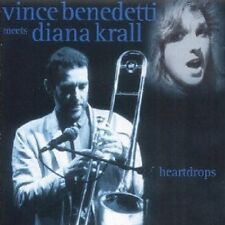 Vince Benedetti - Heartdrops: Vince Benedetti Meets Diana Krall [New CD] O-Card