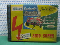 Tin Toy SCHUCO Varianto 3010 Super - 2 ELEKTRO AUTOS - Made U.S.Zone W.Germany