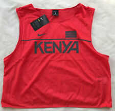 Nike Kenya Track Dri-Fit 812025-696 Marathon Running Shirt Tank Top Women's XL
