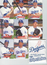 2003 Keebler Los Angeles Dodgers Set Ishii Nomo Sga
