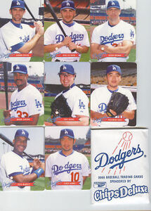 2003 Keebler Los Angeles Dodgers Set Ishii Nomo
