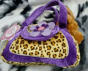Fancy Pals pet Carrier Plush Chihuahua Toy
