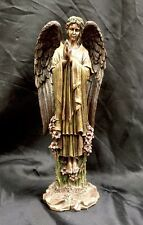 Arch Angel St Gabriel Religious Statue bronze coated 30cm tall Brand New