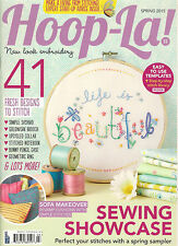 HOOP-LA Spring 2015 Sewing Perfect Stitches 41 Designs DIY Easy Templates How to