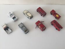 Bundle Pack Of 8 Corgi / Juniors / MC Toys Vintage Toy Model Cars Inc Ford etc