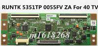 NEW SHARP RUNTK 5351TP 0055FV ZA T-Con Board Samsung UE40F5000AK For 40'' TV
