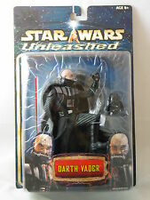 2002 STAR WARS UNLEASHED DARTH VADER BALD UNMASKED VARIANT ACTION FIGURE NRFB
