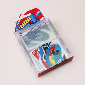 UNO Waterproof Portable Durable Plastic Cards For Trips