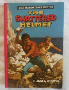 The Hardy Boys #2, The Shattered Helmet by Franklin W Dixon hc 1979