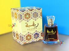 Raghba Eau de Perfume por Lattafa Oud Árabe Vainilla Balsámica Dulce en Polvo