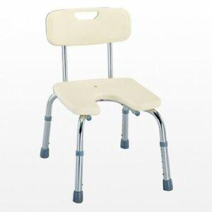 Shower Stool Seat Bench Support Aid Elderley Adjustable Height