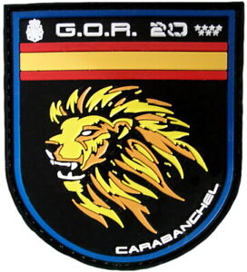 POLICÍA NACIONAL CNP GRUPO RESPUESTA GOR 20 CARABANCHEL PARCHE INSIGNIA EB01698