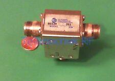 RF microwave circulator, 875.5 MHz CF, 227 MHz BW, 100 Watt CW, data
