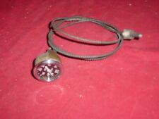 "Vintage Stewart Warner Oil Temp Gauge Curved Glass 2 1/16"" Street Rat Rod 412209"