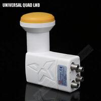 Full hd digital universal lnb high quality low noise universal ku band quad lnb