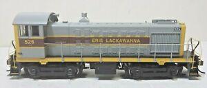 Erie Lackawanna Railroad ALCO S2 Soundtraxx DCC and Sound Runs Well -- HO Scale