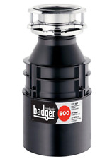 InSinkErator Badger 500 1/2 Hp Continuous Feed Kitchen Waste Garbage Disposal