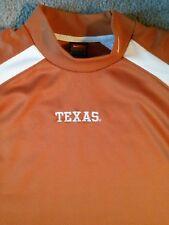 Nike Sphere Dry Texas Longhorns Men's Mock Turtleneck T-Shirt - Size Large