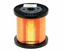 44AWG - ENAMELLED COPPER GUITAR PICKUP WIRE, MAGNET WIRE, COIL WIRE - 1KG SPOOL