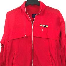 Vintage Catalina Windbreaker Jacket Red Size Large