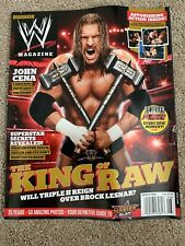 WWE Magazine - August 2012 Issue: Triple H Cover