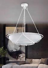 Lampadario classico in ferro battuto bianco 3 luci pre So 162/50