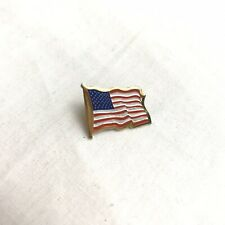 Gold American Flag Pin