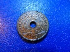 II REPUBLICA ESPAÑA - 25 CENTIMOS 1938 MADRID - EBC