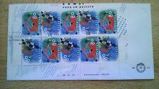 FDC E 313a vel 10 zegels V1571-1572