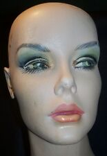 Vintage  Full Body FEMALE Mannequin w/ Stand  Painted Face