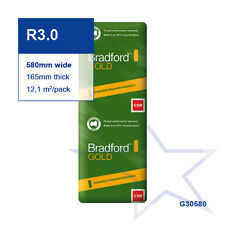 R3.0 | 580mm Bradford Gold™ Thermal Ceiling Insulation