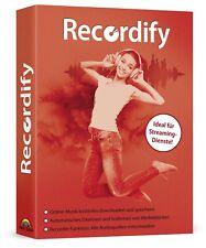 Recordify -Online-Musik kostenlos downloaden und speichern - Download Version