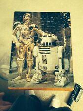 Vintage Star Wars Puzzle R2D2 C3PO Kenner Movie 1977 Figure