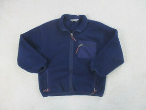 Eastern Mountain Sports Sweater Adult Extra Large Blue EMS Outdoors Hiking Mens