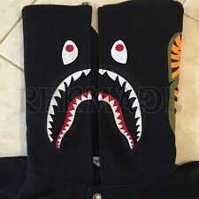 Rare 09 A Bathing Ape Shark Varsity Jacket 80% Wool 20% Nylon