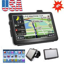 "【USA】7"" HD Touch Screen CAR TRUCK 8GB GPS Navigation Navigator SAT NAV Tool Gift"