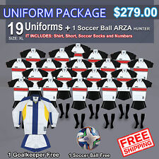 Uniform Arza Corinthians AR-1 Short Sleeve for Soccer. Package $ 279.00