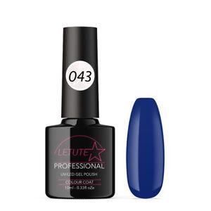 043 LETUTE™ Ultra Blue Soak Off UV/LED Nail Gel Polish