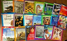 Lot 20 Scholastic TRUE Book Science History Readers Non-Fiction Geography