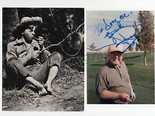 Mickey Rooney - Iconic Film Actor - Lot of 2 Signed Photographs