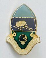 Old Bar Bowling Club Badge Pin Rare Vintage (L9)