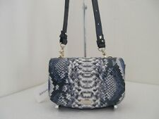 NWT AUTH BRAHMIN LIL BALLINGTON EMBOSSED LEATHER MULTI WAY CONVERTIBLE BAG-$315
