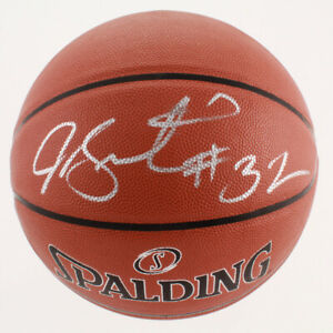 Joe Smith Signed Spalding NBA Super Tack Pro Basketball (JSA COA)